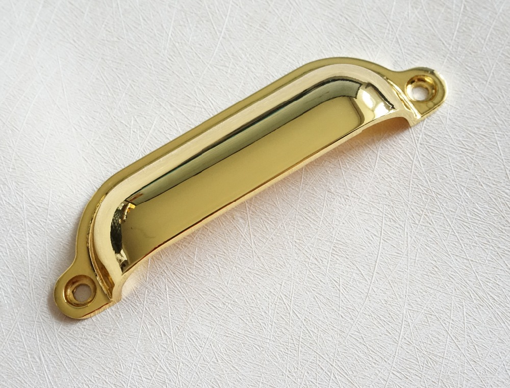 Small Brushed Gold Cabinet Hardware