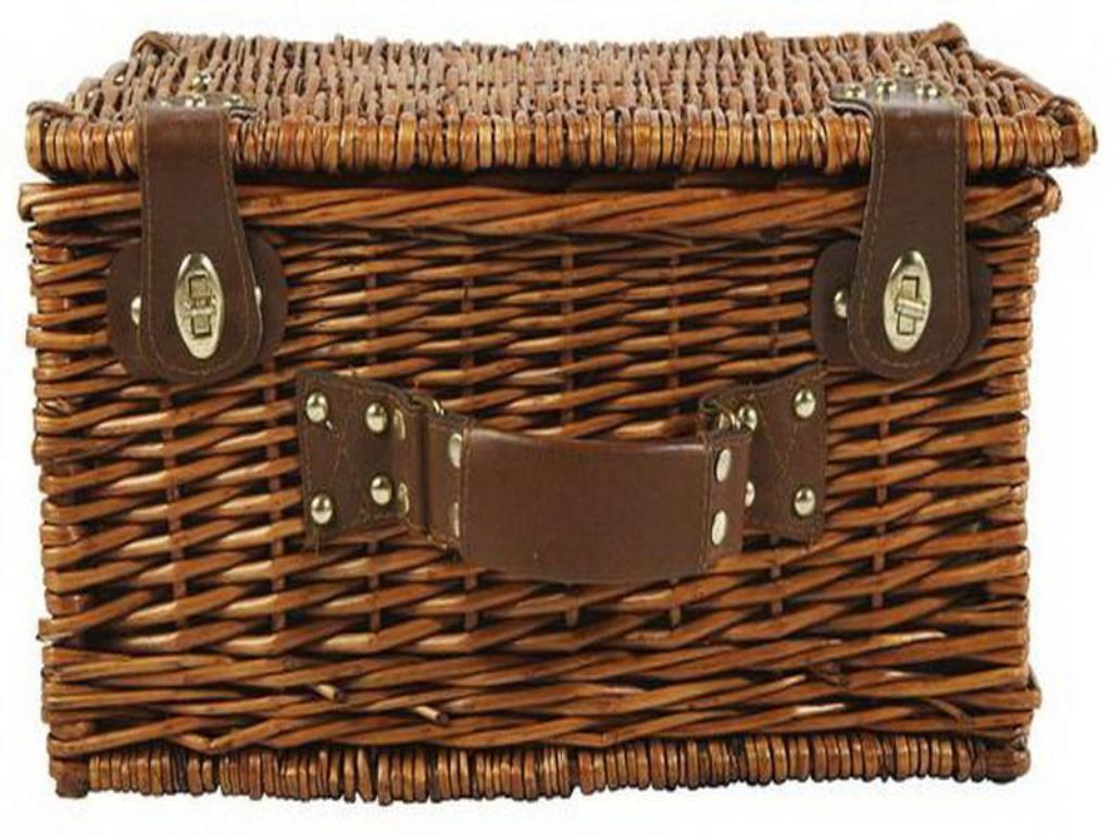 Image of: Small Wicker Storage Chests
