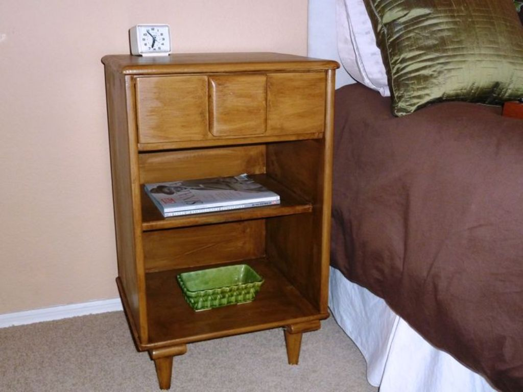 Picture of: Solid Wood Nightstand Unfinished