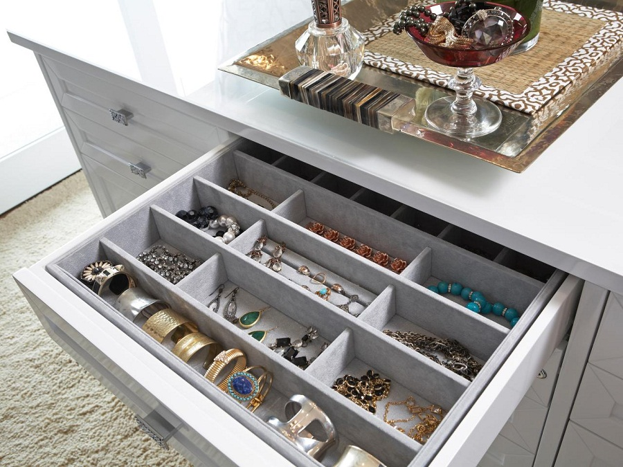 Spring Loaded Drawer Dividers