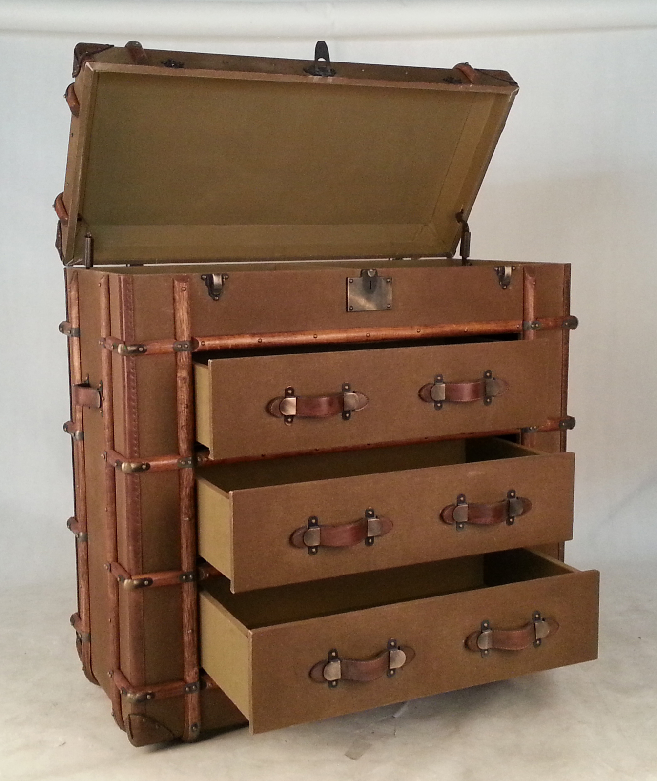 Stacked Suitcase Furniture