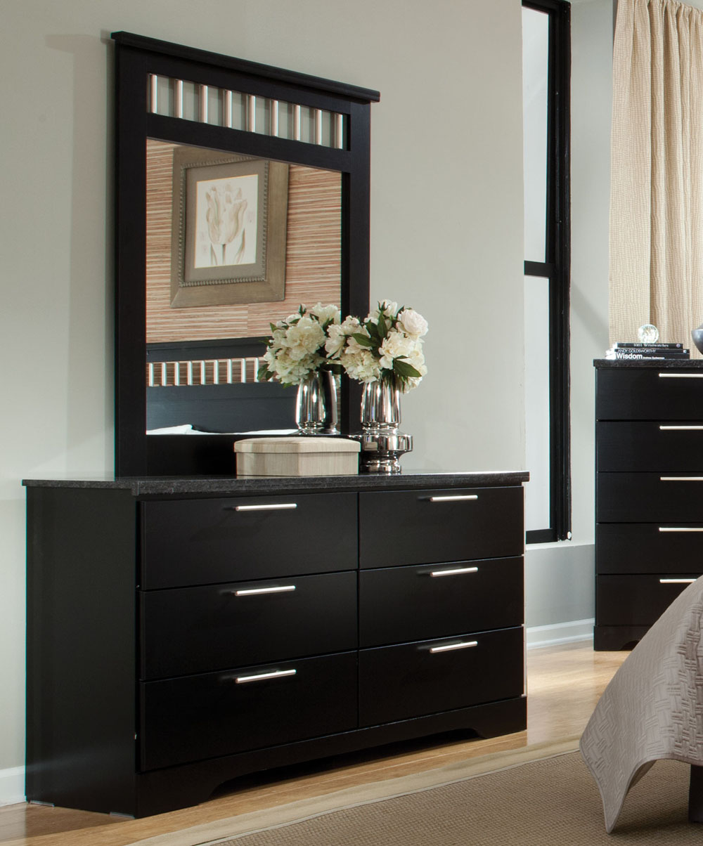 Picture of: Standard 6 Drawer Dressers with Mirror