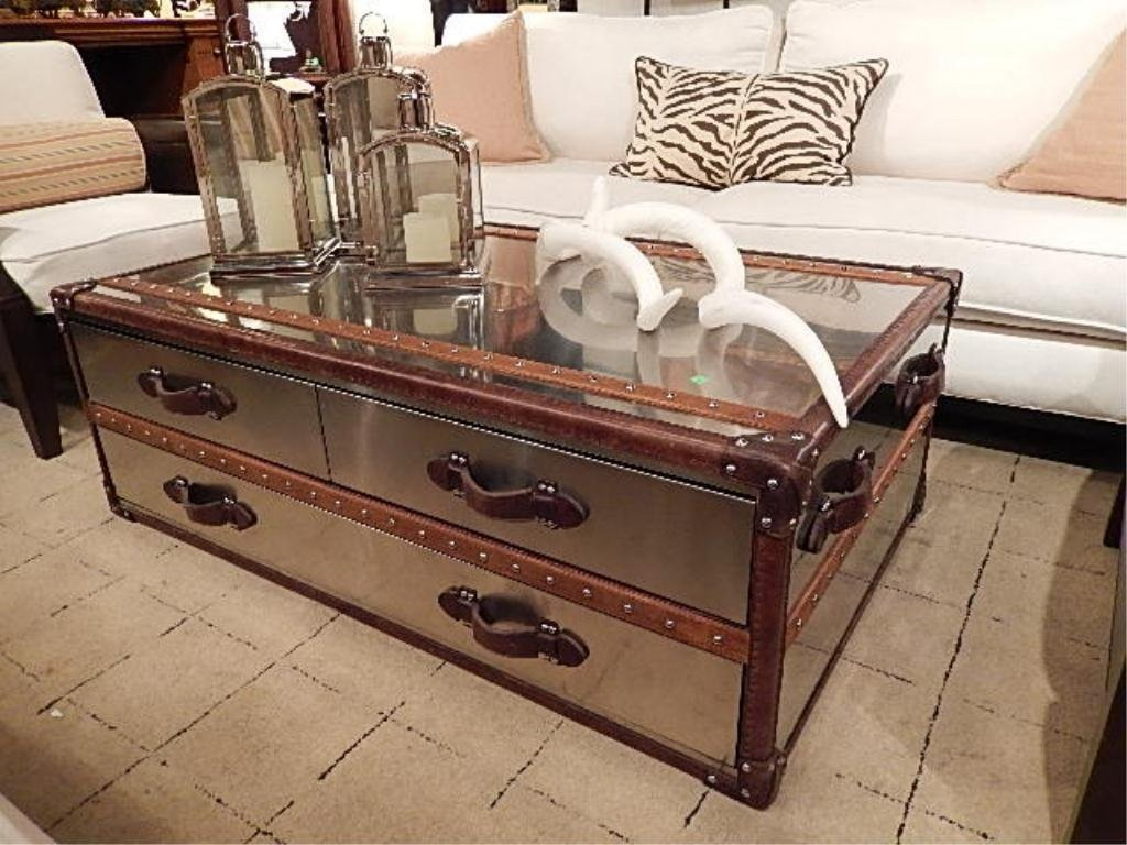 Picture of: Steamer Trunk Dresser