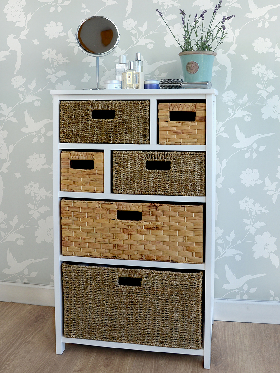 Picture of: Storage Dresser With Baskets