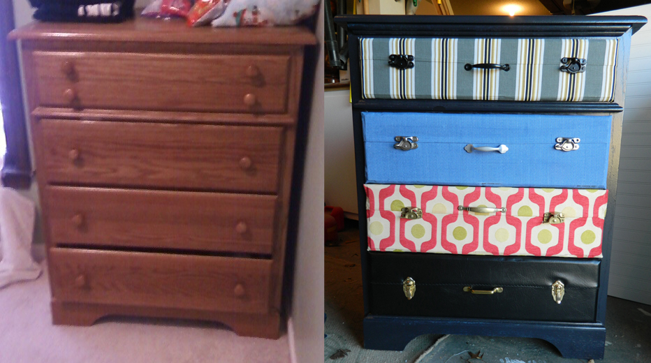 Picture of: Suitcase Chest Of Drawers