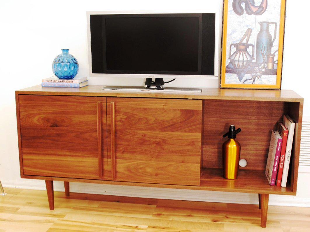 Picture of: Simple TV Dresser Chest