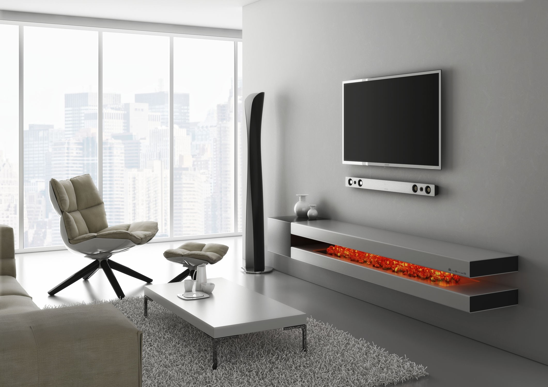 Picture of: Awesome TV Dresser for Bedroom