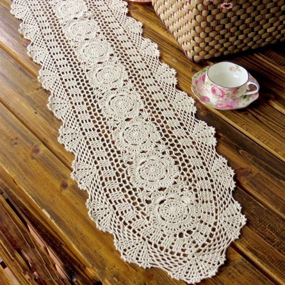 Image of: Table Runners Shapes