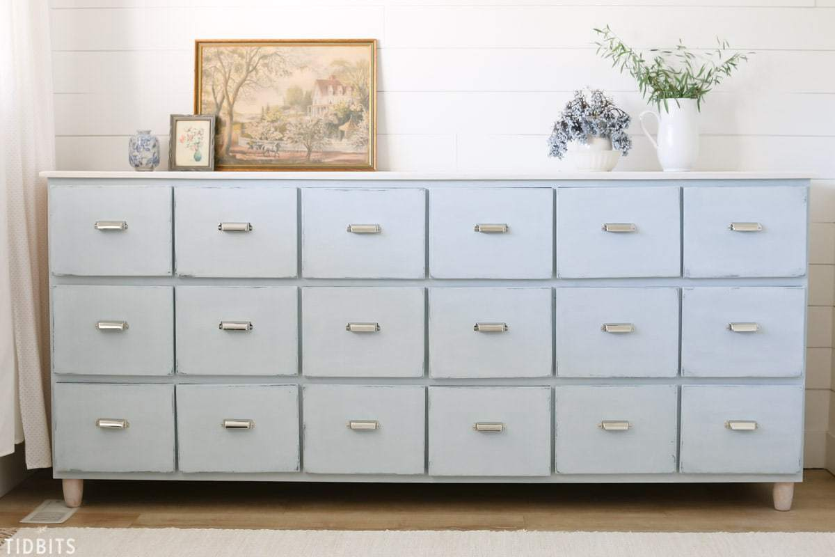 Image of: Tabletop Apothecary Cabinet