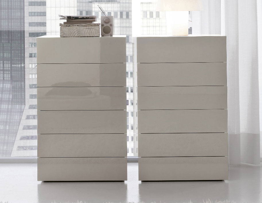 Image of: Tall Boy Dresser White
