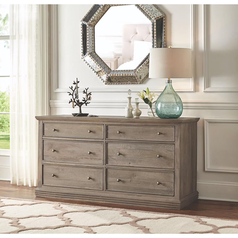 Image of: Tall Chest Of Drawers and Mirror