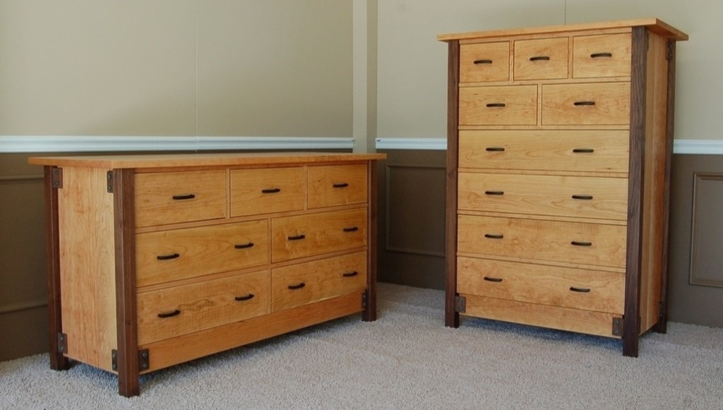 Image of: Tall Dresser 6 Drawers