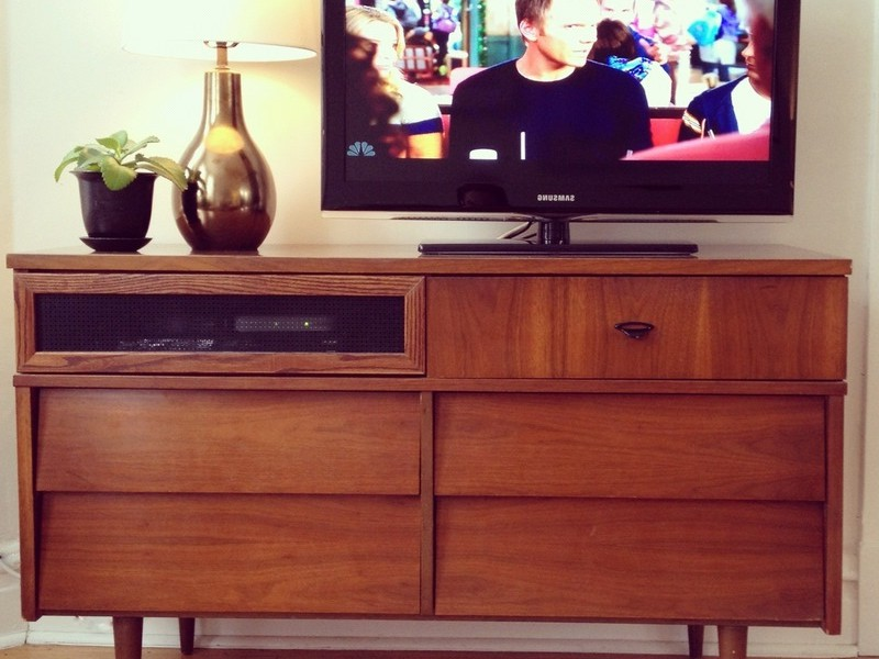Picture of: Tall Dresser TV Stand