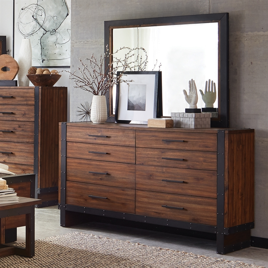 Picture of: Tall Dressers Decor and Mirror