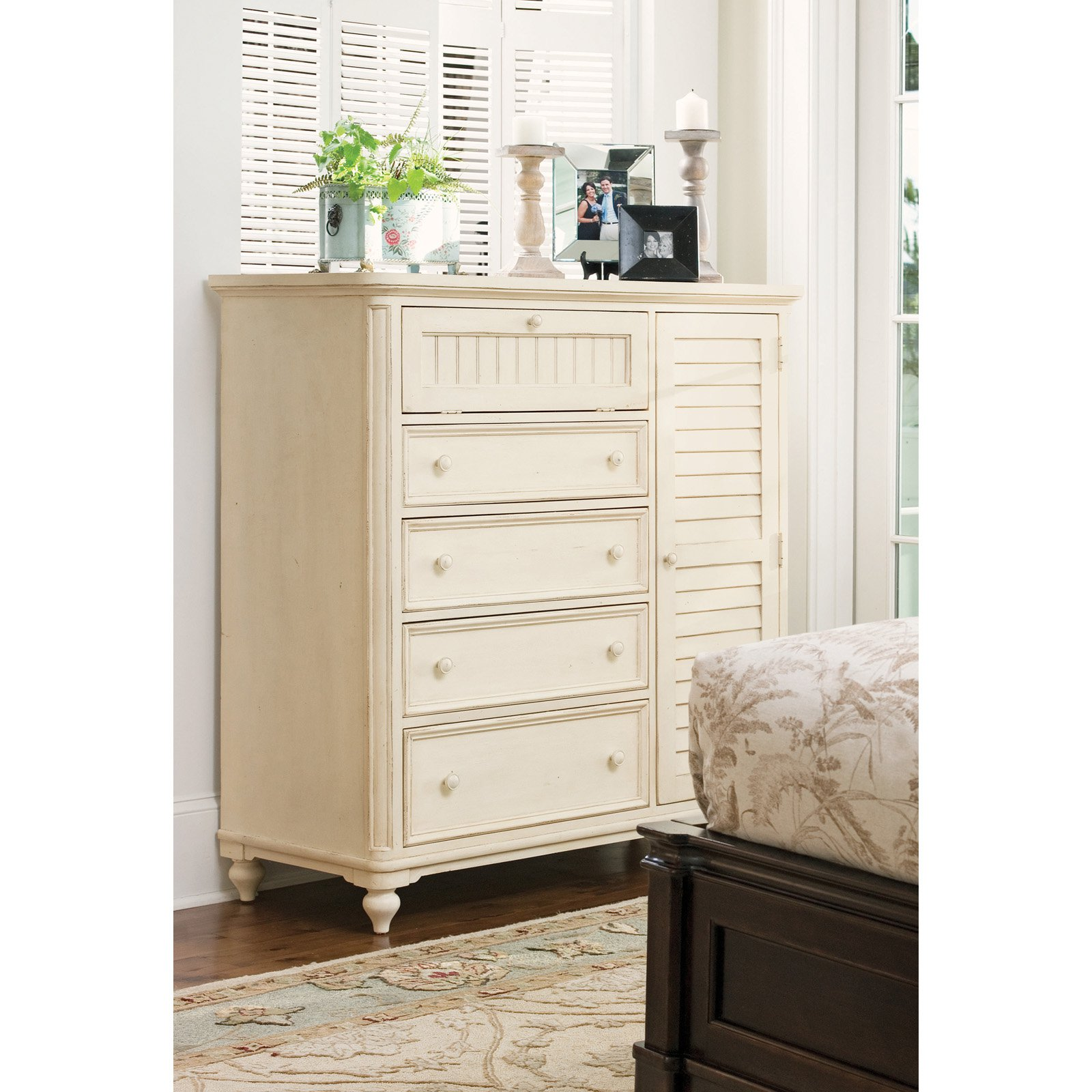 Picture of: Tall Dressers in Bedroom