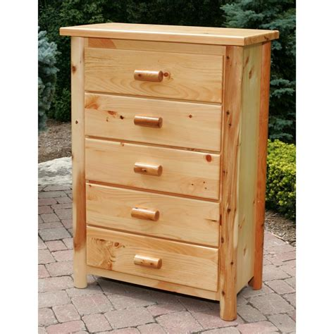 Tall Five Drawer Dresser