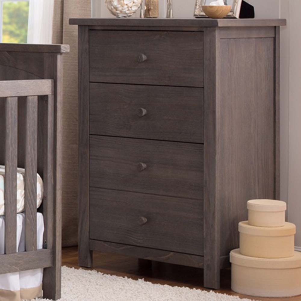 Tall Gray Dresser Nursery