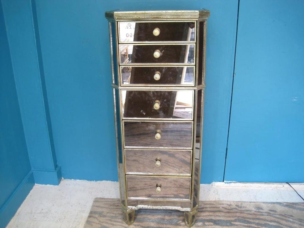 Tall Narrow Chest Of Drawers Antique