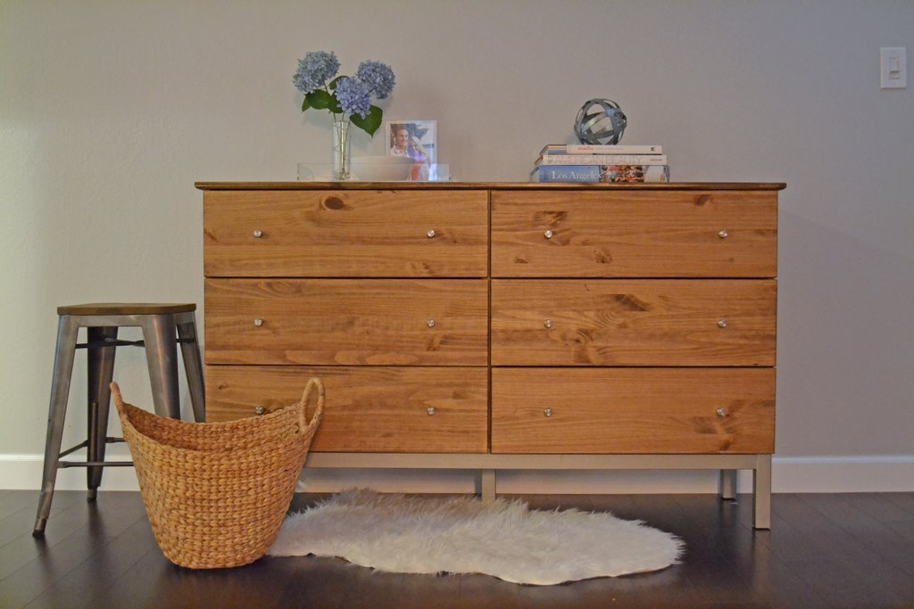 Image of: Tarva 6 Drawer Dresser Discontinued