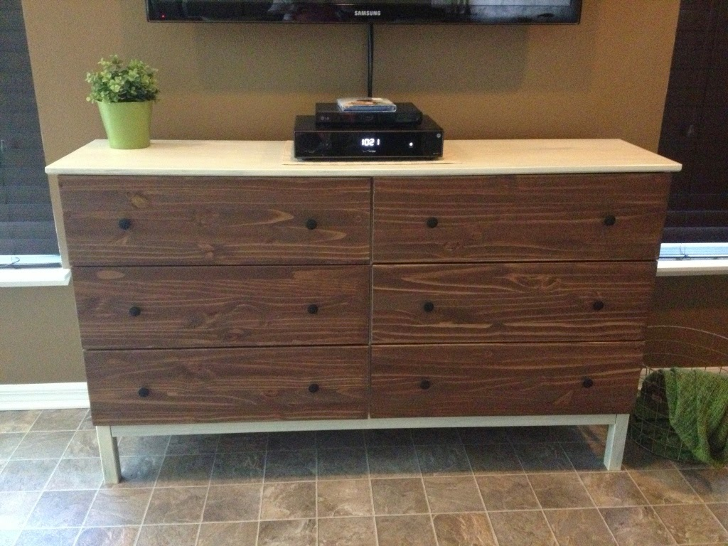 Image of: Tarva Unfinished Furniture Dresser