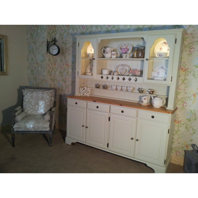 Picture of: Traditional Welsh Dresser White