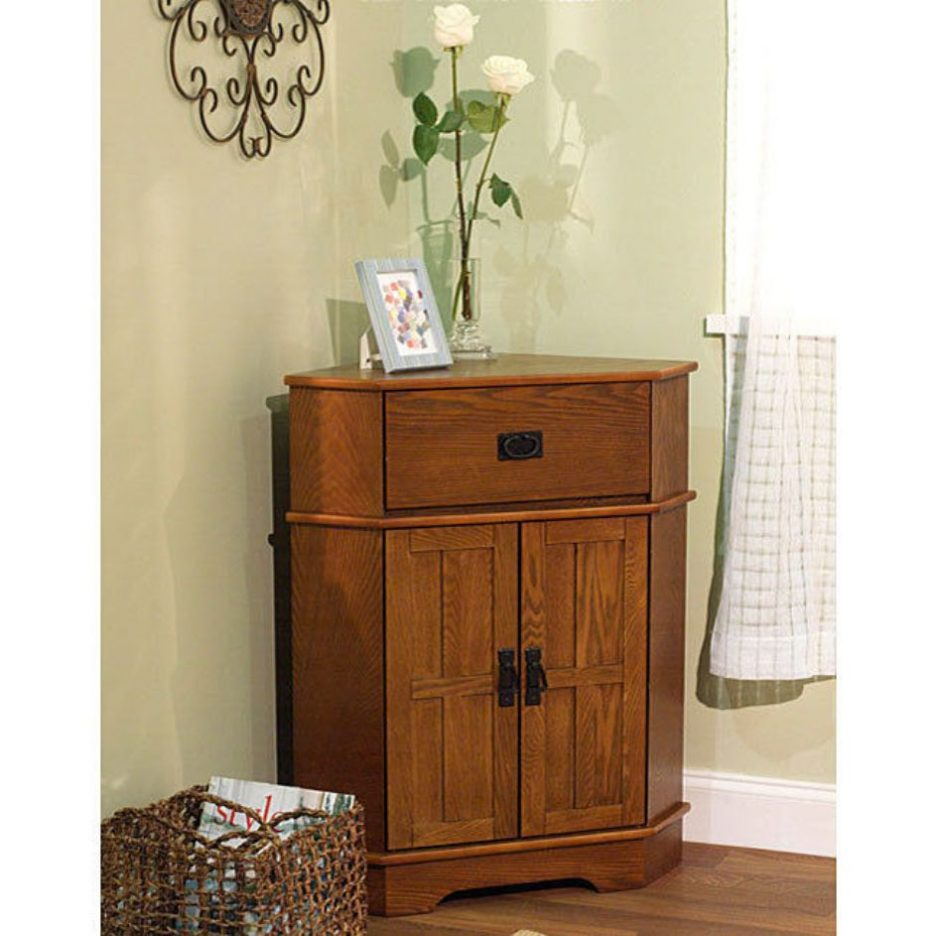 Picture of: Triangular Corner Dresser