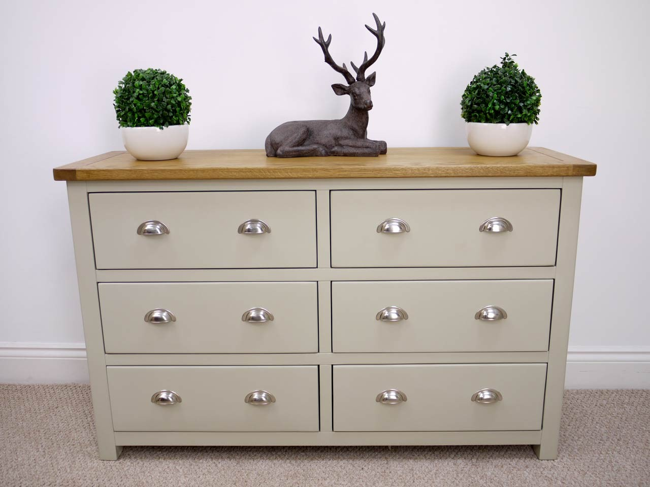 Image of: Two Tone Dressers Diy