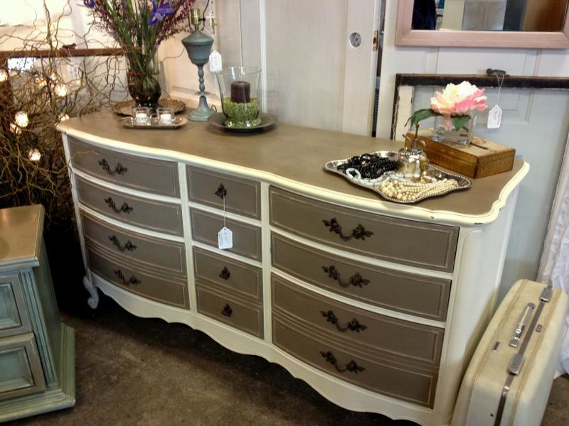 Two Toned Dresser Ideas