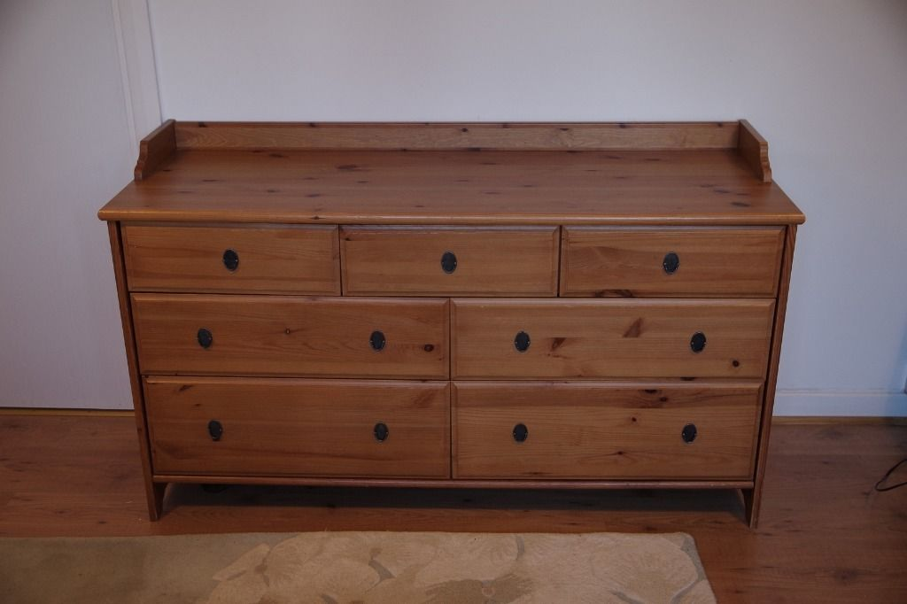 Image of: Unfinished Pine Dresser Home Depot