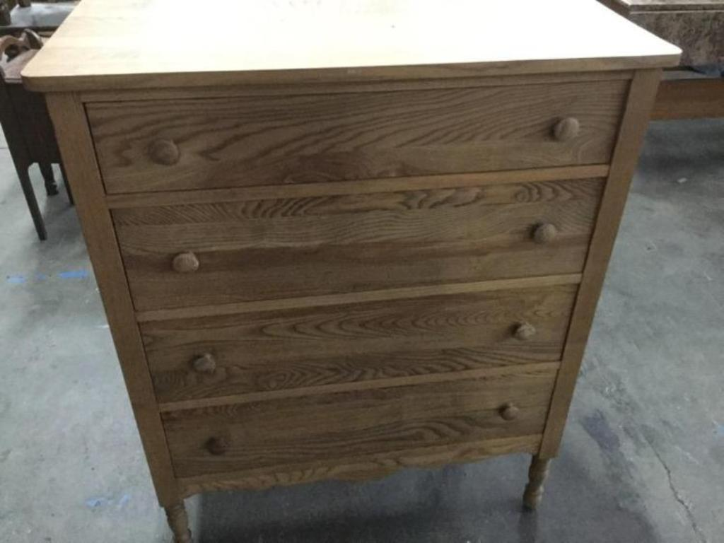 Picture of: Unfinished Tall Dresser