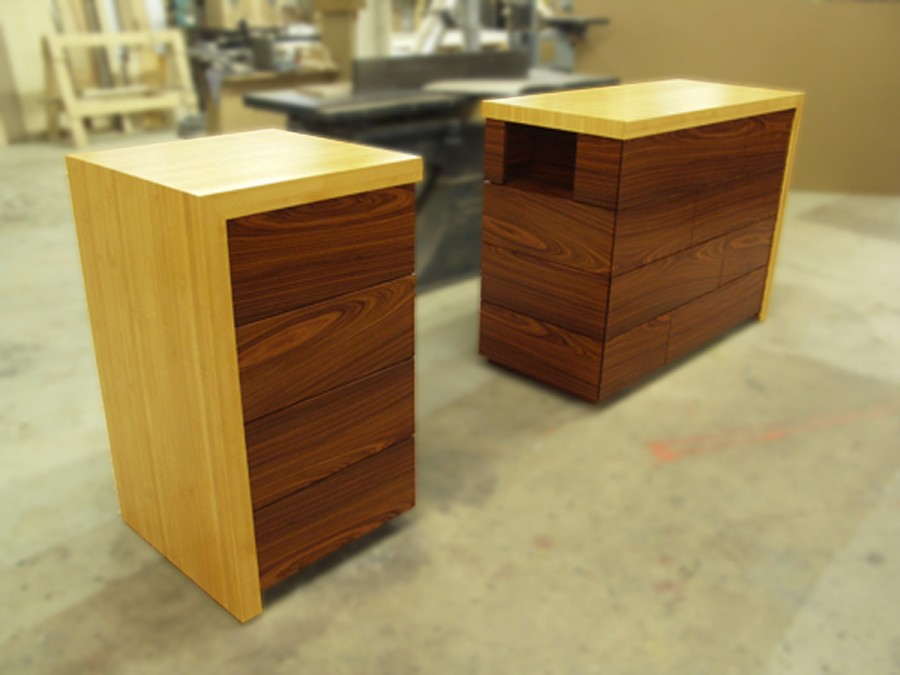 Image of: Unique Style Tall Nightstands