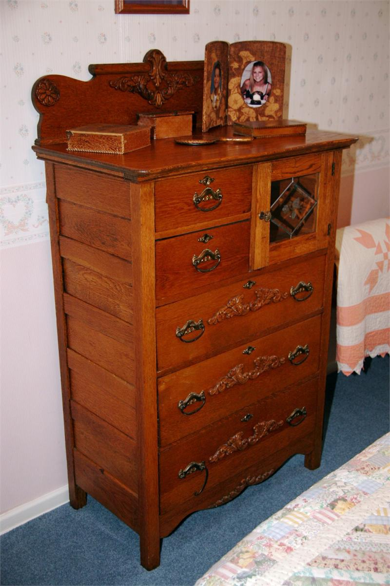 Used Oak Dresser For Sale