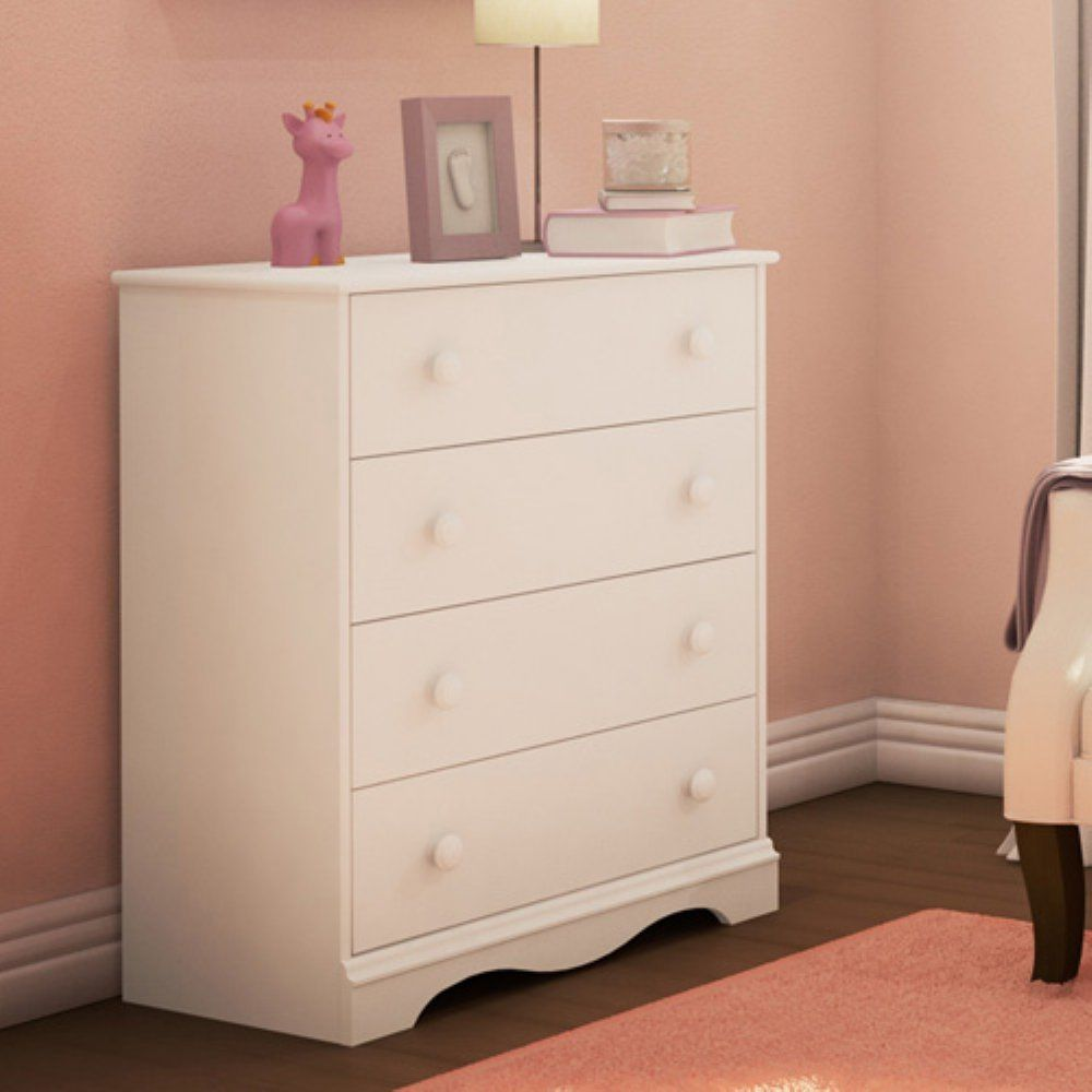 Picture of: Used White Dresser For Kids
