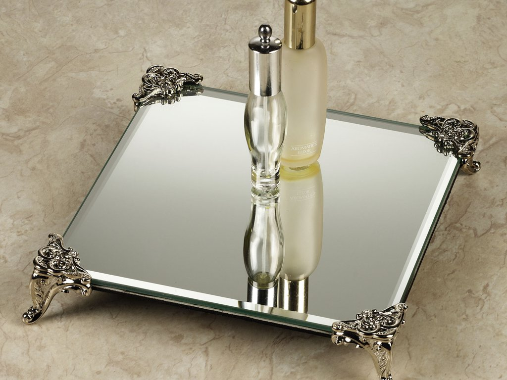 Picture of: Vanity Tray Gold