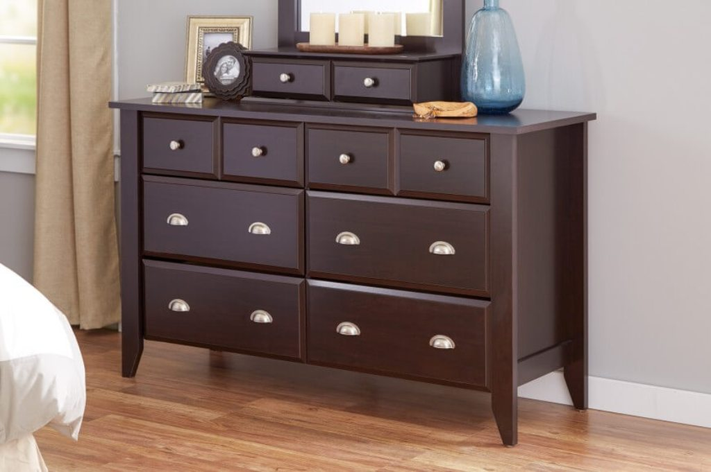 Picture of: Vertical 6 Drawer Dresser