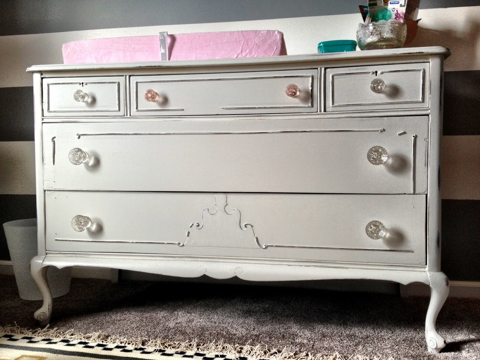 Picture of: Vintage Baby Bedroom Dresser