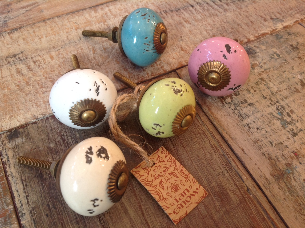 Vintage Ceramic Cabinet Knobs