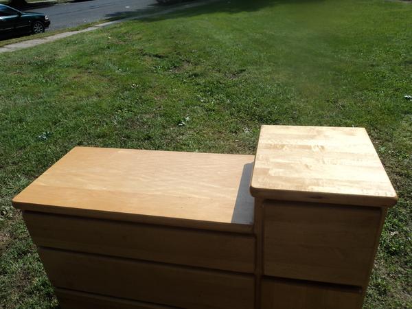 Picture of: Vintage Solid Maple Dresser