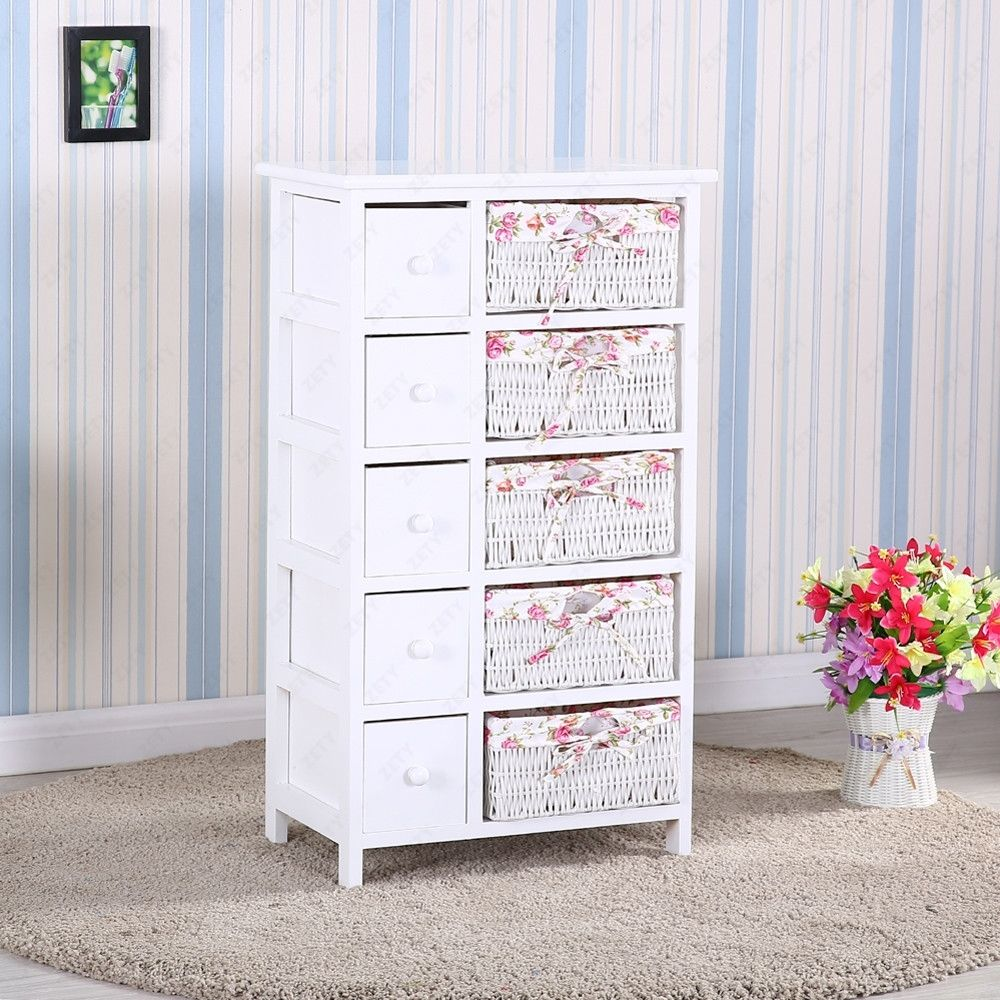 Picture of: Vintage Tallboy Dresser