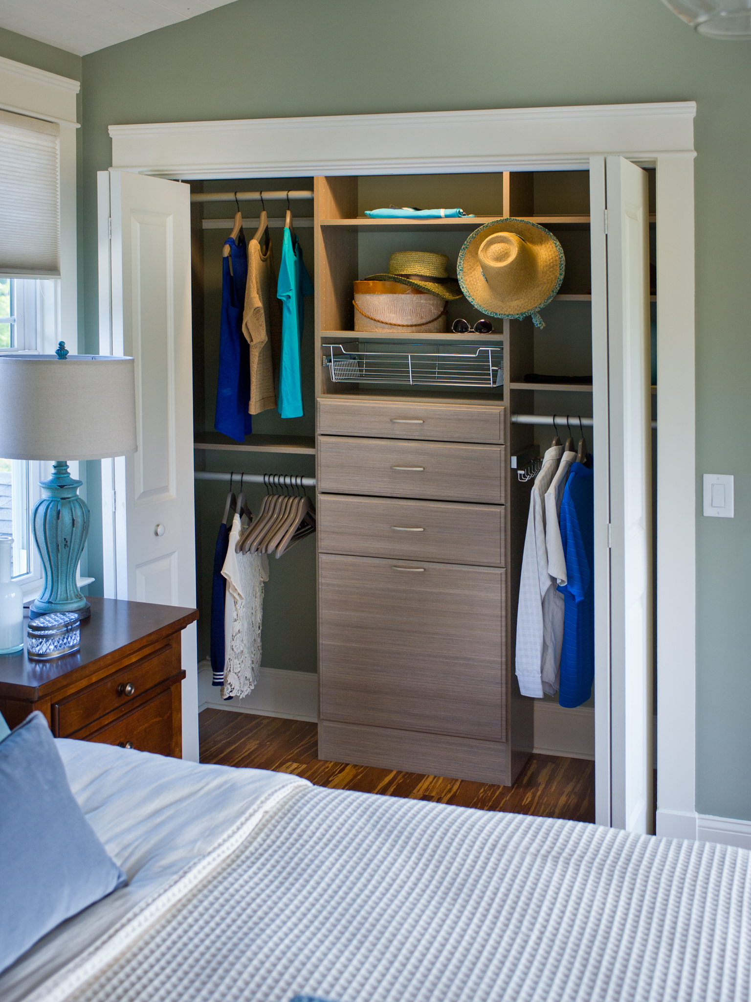 Picture of: Wall Closet Storage Ideas