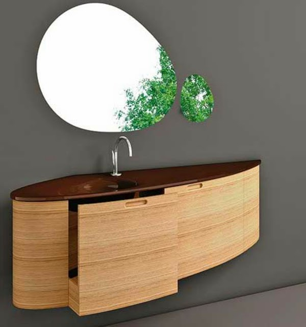 Wall Mounted Floating Dressing Table