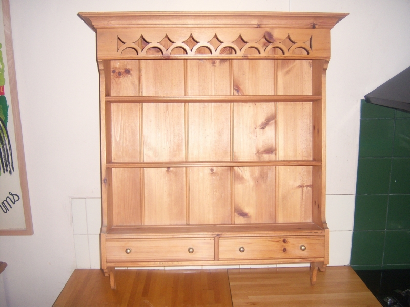 Picture of: Wall Mounted Welsh Dresser Top