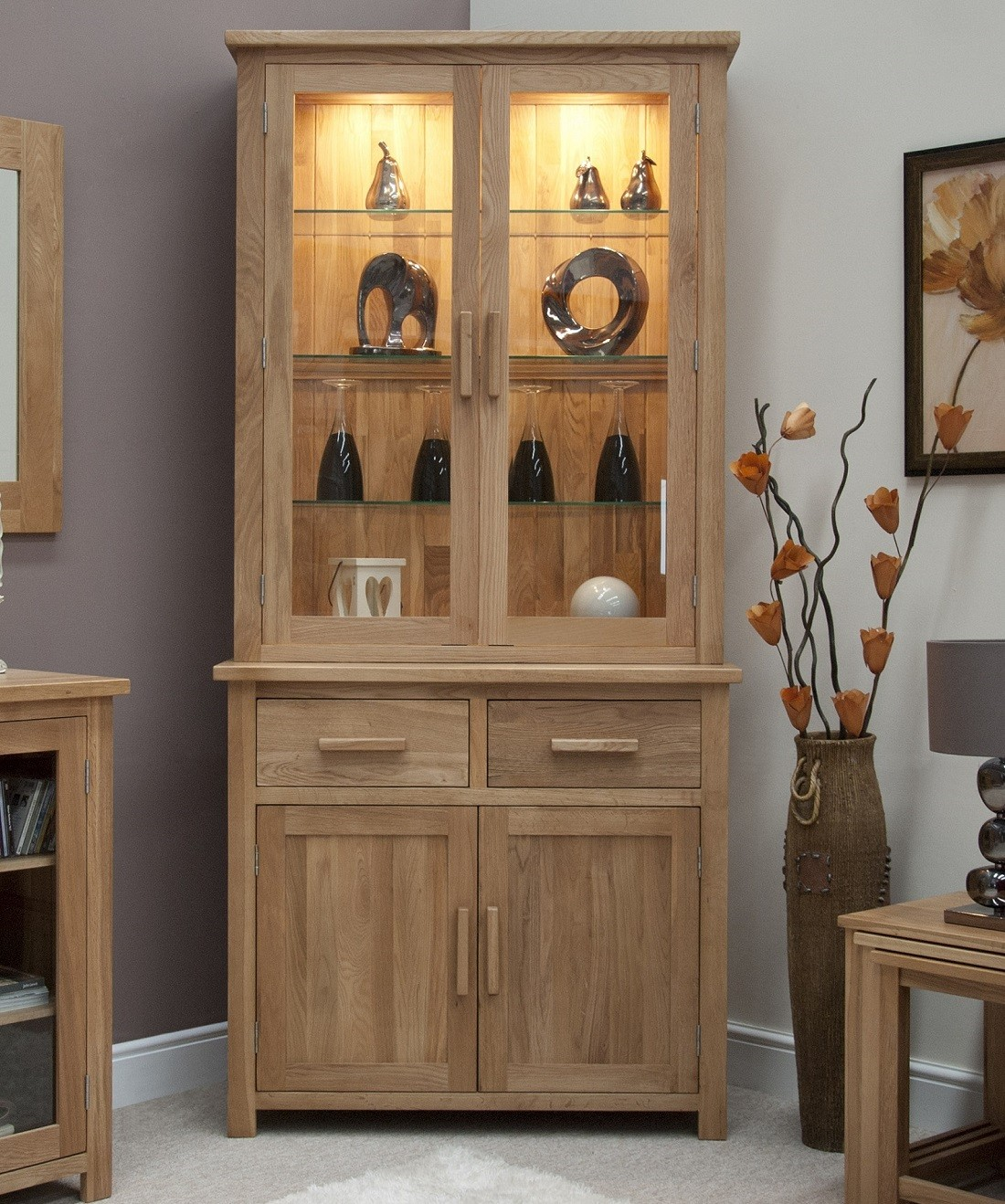 Picture of: Welsh Dresser For Corner