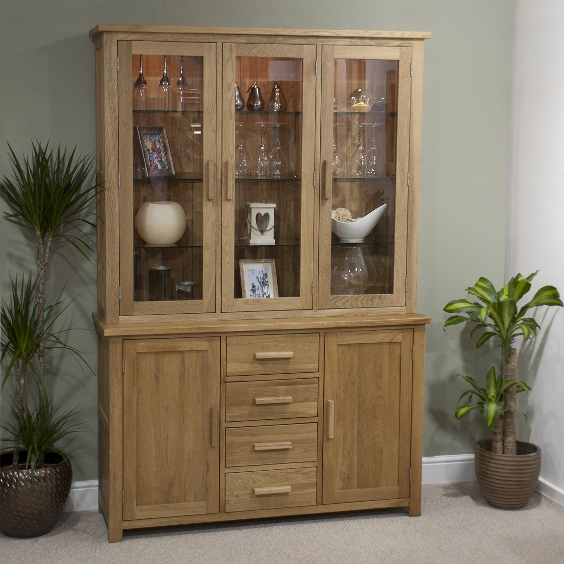 Picture of: Welsh Dresser Glass Door