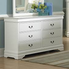 Picture of: White 6 Drawer Baby Dresser