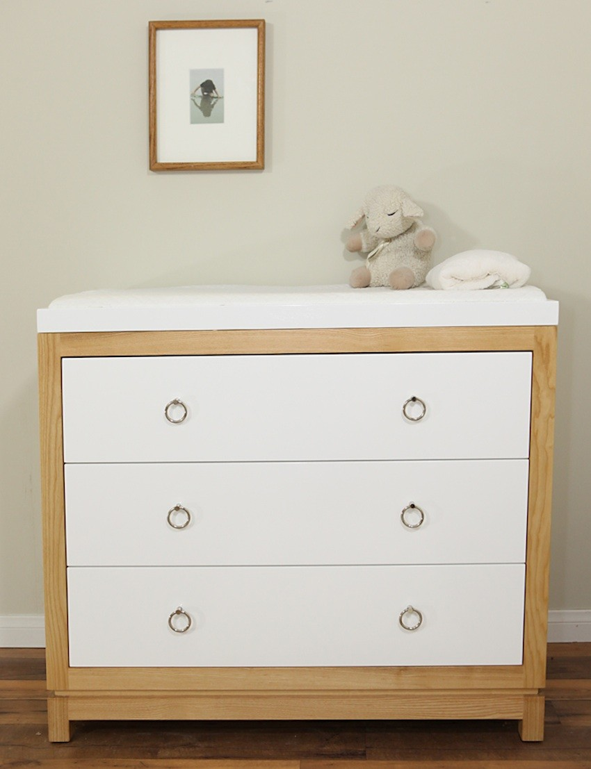 Picture of: White Baby Dresser and Changing Table