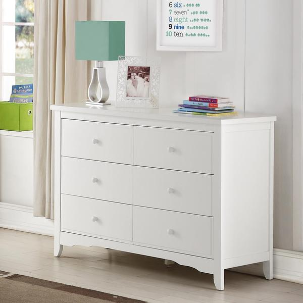 Picture of: White Baby Girl Dresser