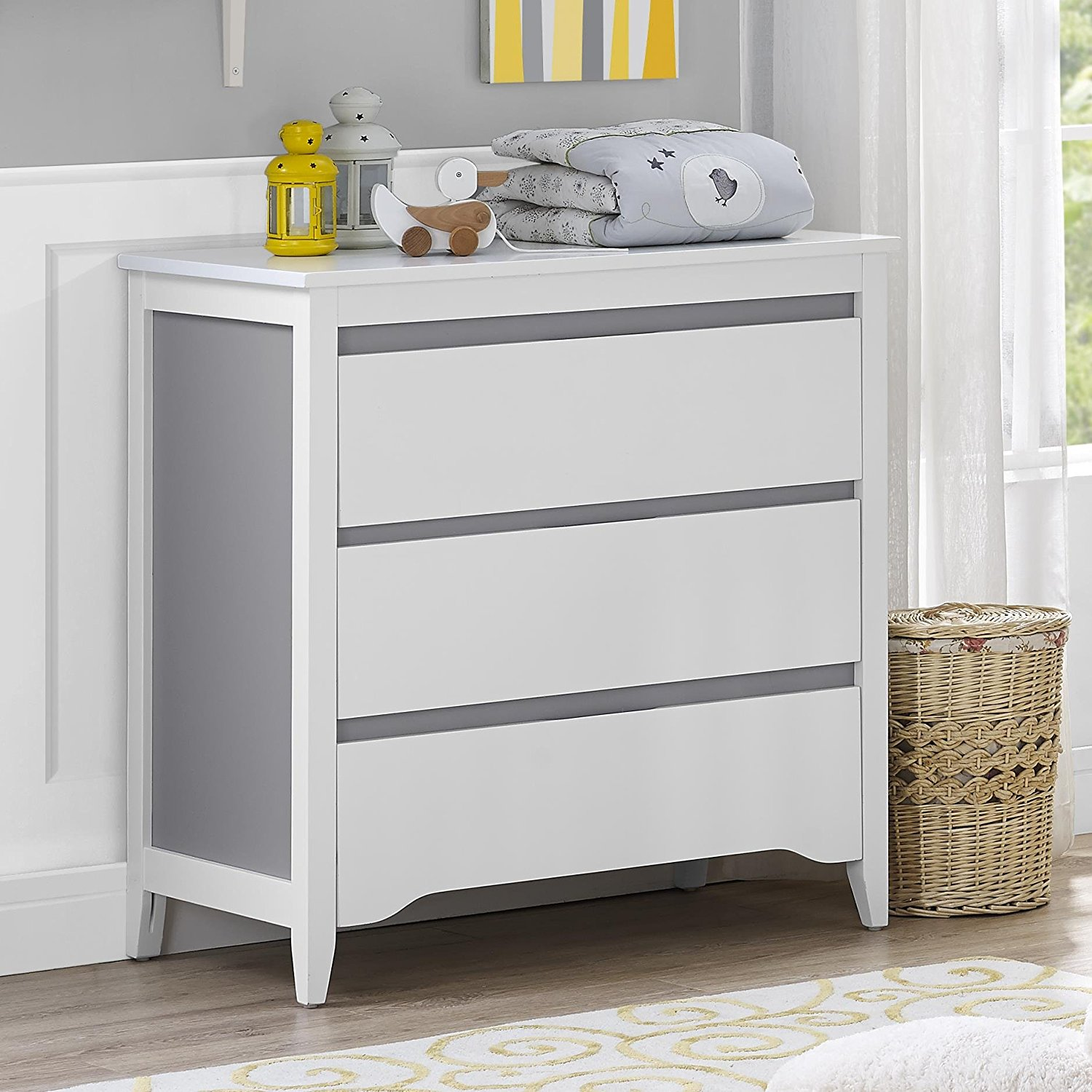 White Changing Table Ikea