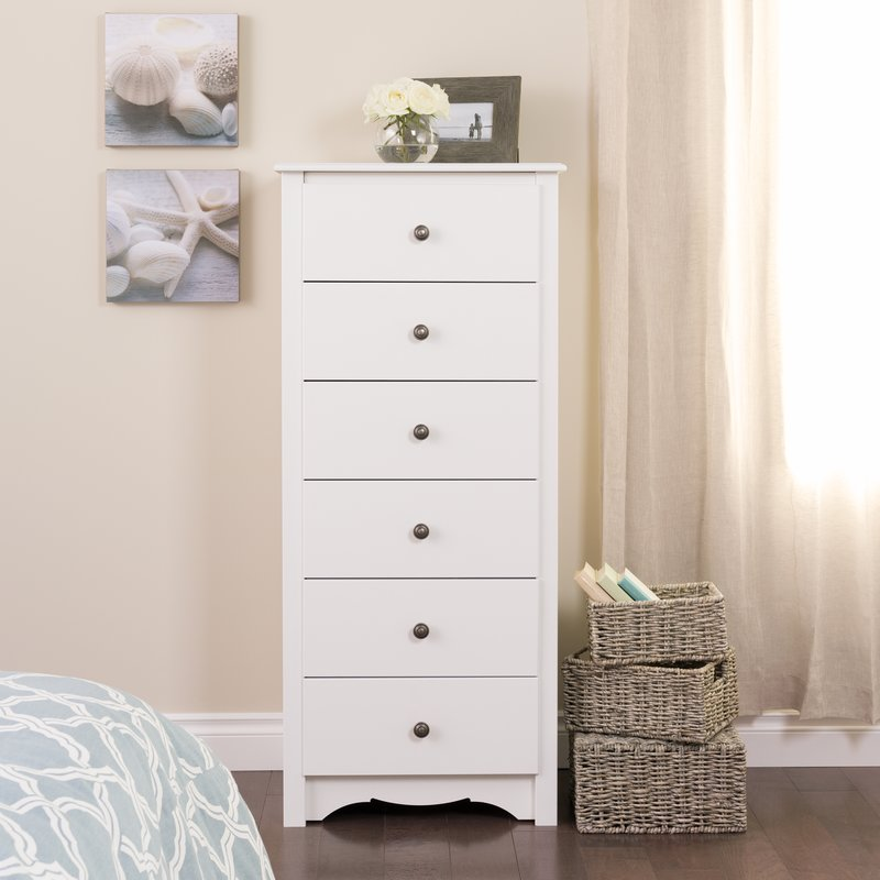 Picture of: White Cheap Dresser Tall