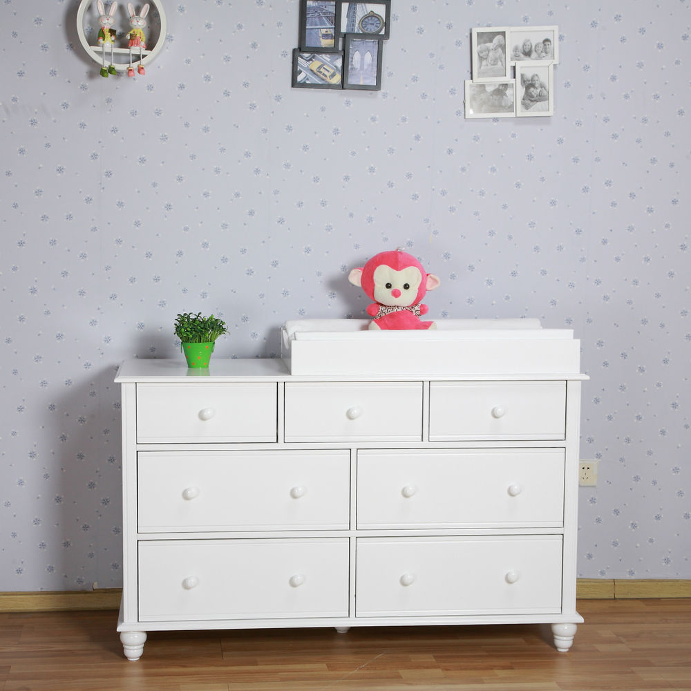 Picture of: White Childs Dresser